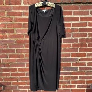 Flattering Plus Size 22/24 Black Dress